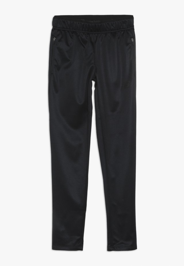 JUNIOR SLIM PANT - Tracksuit bottoms - black