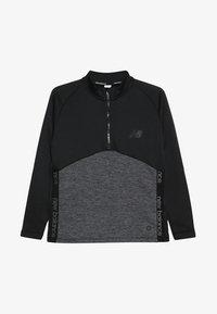 New Balance - CORE JUNIOR DRILL TOP - Sweatshirt - black - 3