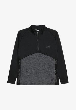 CORE JUNIOR DRILL TOP - Sweatshirt - black