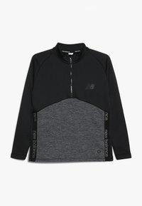 New Balance - CORE JUNIOR DRILL TOP - Sweatshirt - black - 0