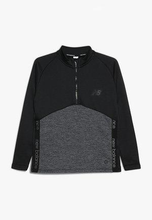 CORE JUNIOR DRILL TOP - Sweatshirts - black