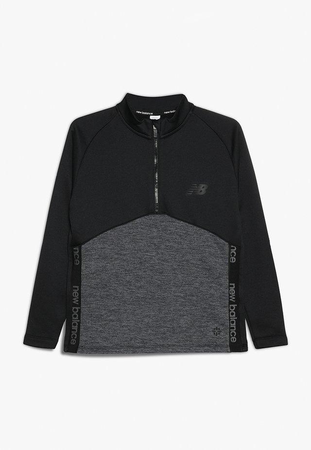 CORE JUNIOR DRILL TOP - Sweater - black