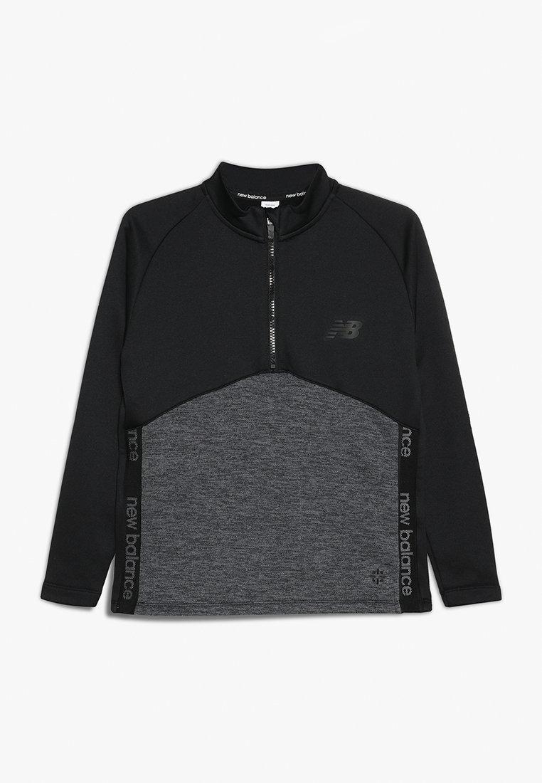 New Balance - CORE JUNIOR DRILL TOP - Sweatshirt - black