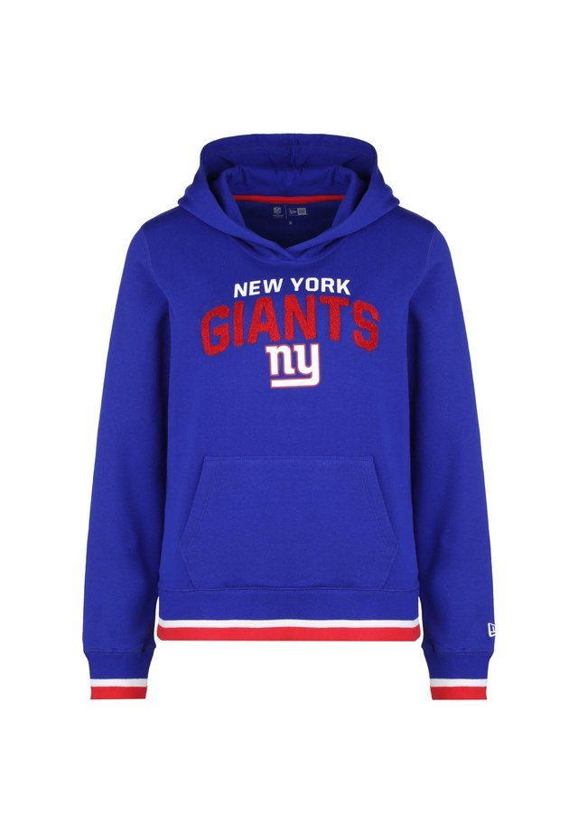 NEW ERA NFL NEW YORK GIANTS FLEECE KAPUZENPULLOVER DAMEN - Sweat à capuche - blue