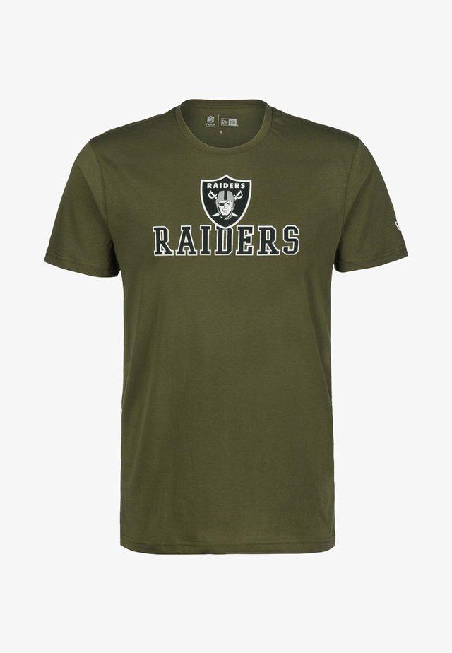 OAKLAND RAIDERS ARCH  - T-shirt print - green