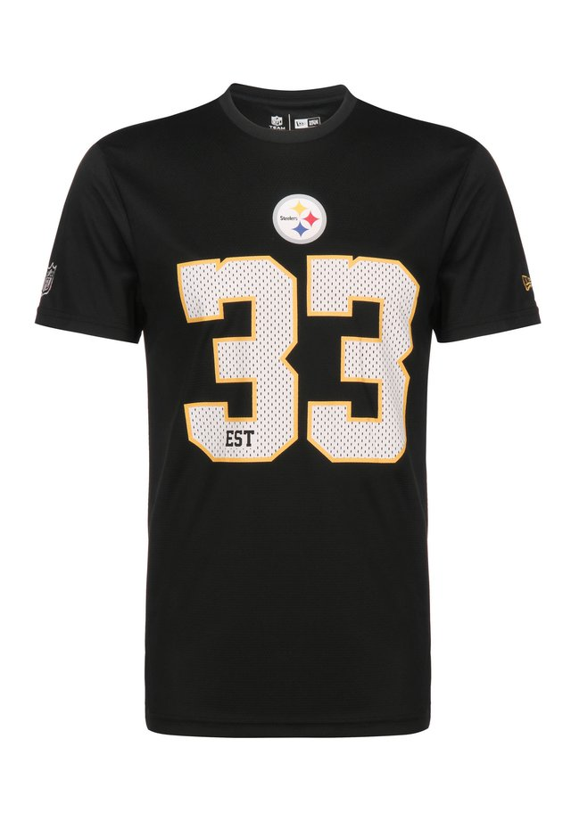NFL PITTSBURG STEELERS SUPPORTERS T-SHIRT HERREN - T-shirt print - black