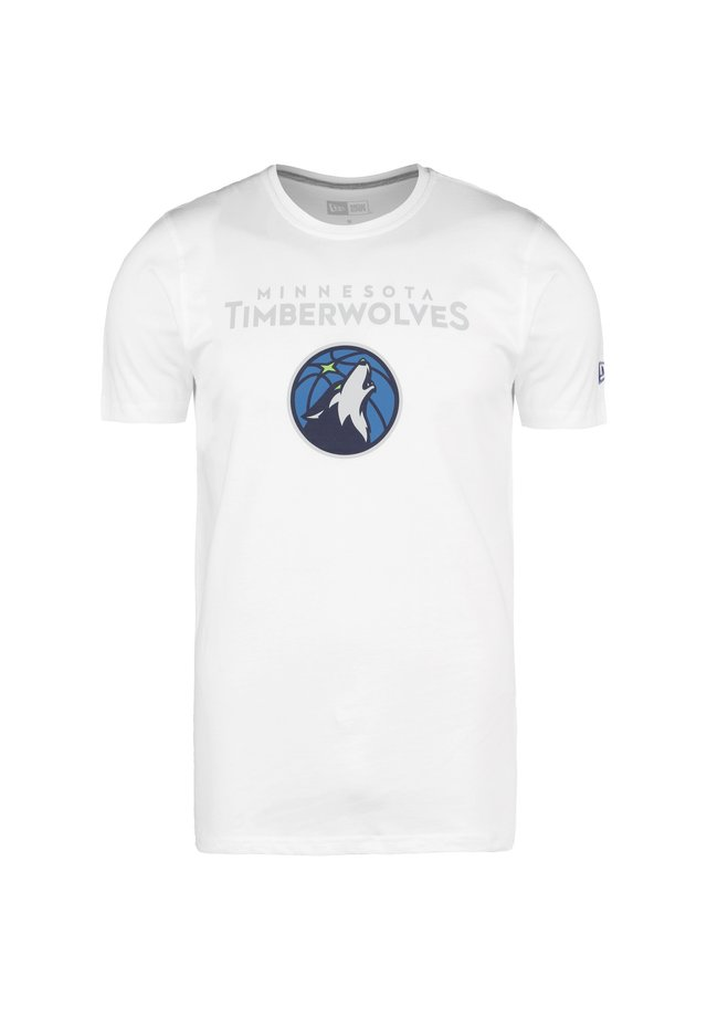 MINNESOT - T-shirt imprimé - white
