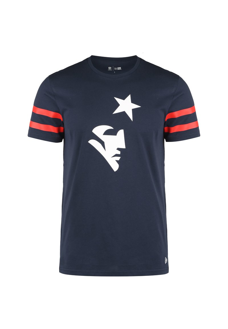 New Era - NEW ENGLAND PATRIOTS  - T-shirt print - navy