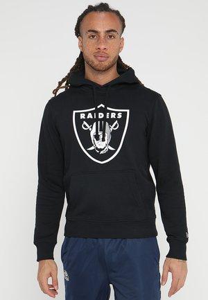 NFL TEAM OAKLAND RAIDERS - Felpa con cappuccio - black