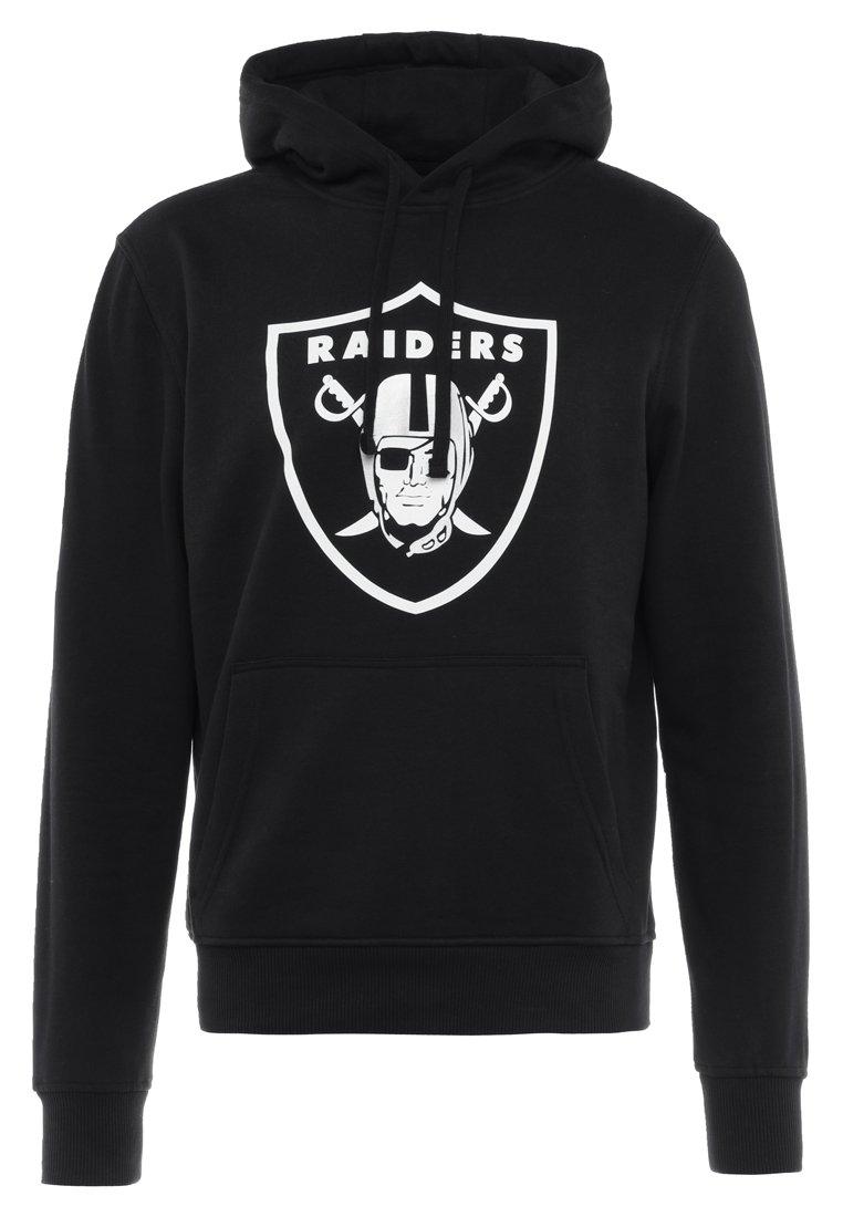 New Era NFL TEAM OAKLAND RAIDERS - Felpa con cappuccio - black