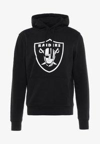 New Era - NFL TEAM OAKLAND RAIDERS - Hoodie - black - 4