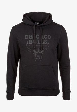 NBA CHICAGO BULLS LOGO  - Sweat à capuche - black