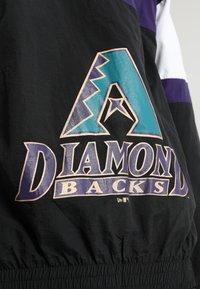 New Era - ARIZONA DIAMONDBACKS TRACK HERREN - Article de supporter - black/purple - 4