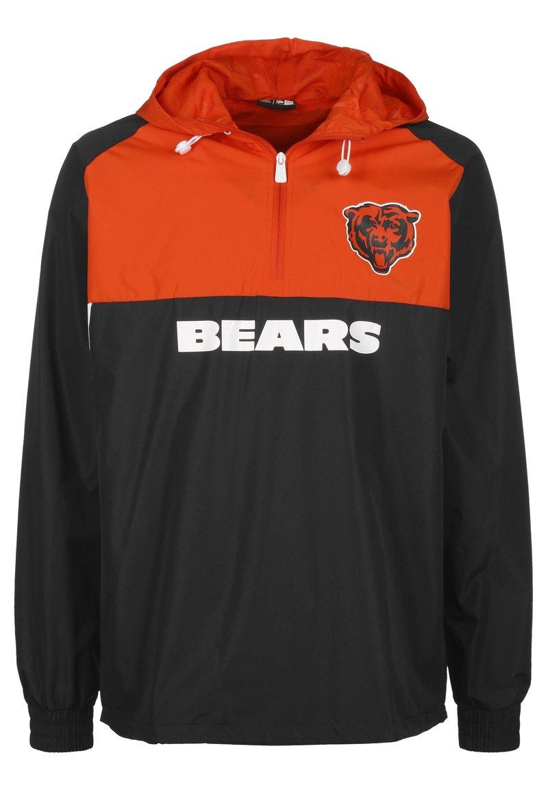 New Era - NFL CHICAGO BEARS COLOUR BLOCK WINDBREAKER HERREN - Article de supporter - navy/orange