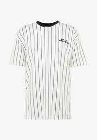 New Era - MLB NEW YORK YANKEES OVERSIZED PIN STRIPE - T-shirt z nadrukiem - off white/navy - 3