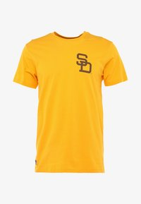 New Era - MLB SAN DIEGO PADRES - Print T-shirt - yellow - 4