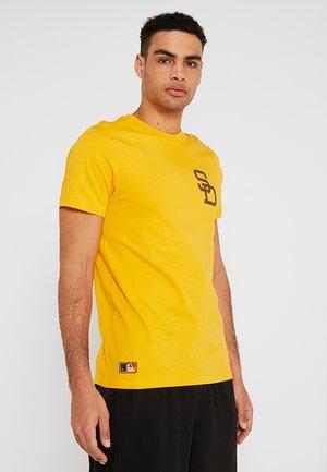 MLB SAN DIEGO PADRES - T-shirts med print - yellow