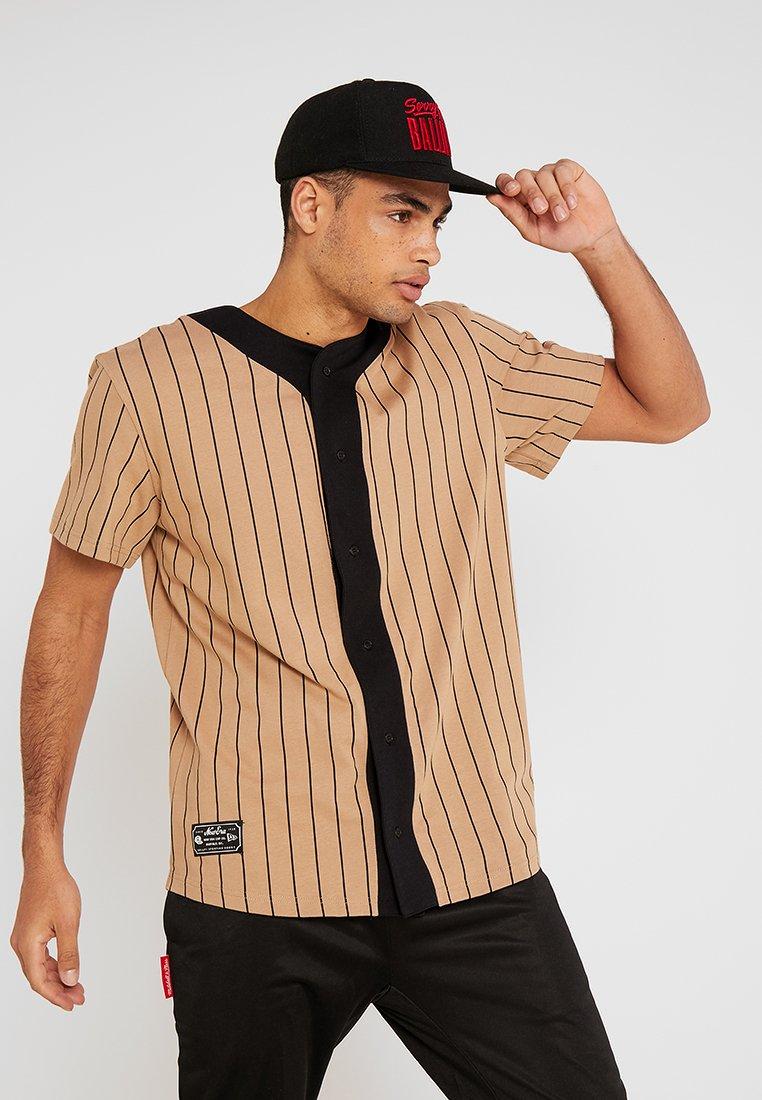 New Era - HERITAGE BASEBALL  - T-Shirt print - beige