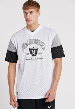 NFL OAKLAND RAIDERS CLASSIC OVERSIZED  - Club wear - white