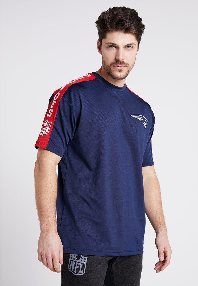 New Era - NFL NEW ENGLAND PATRIOTS OVERSIZED TEE - Klubbkläder - blue
