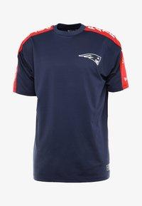New Era - NFL NEW ENGLAND PATRIOTS OVERSIZED TEE - Klubbkläder - blue - 4