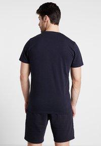 New Era - SCRIPT TEE - T-shirt - bas - navy - 2