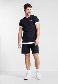 New Era - SCRIPT TEE - T-shirt - bas - navy - 1