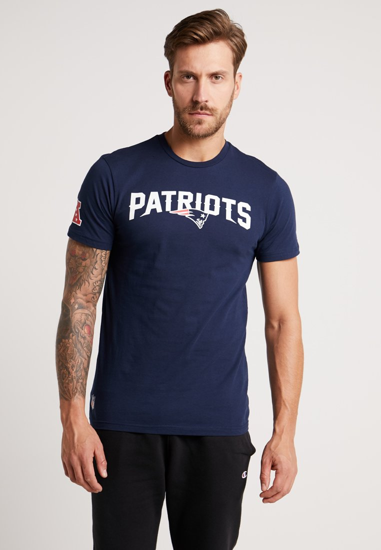 New Era - NFL NEW ENGLAND PATRIOTS FAN TEE - Vereinsmannschaften - dark blue