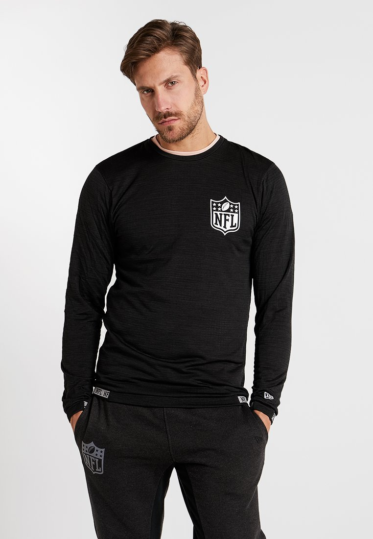 New Era - NFL ENGINEERED TEE - Langarmshirt - black