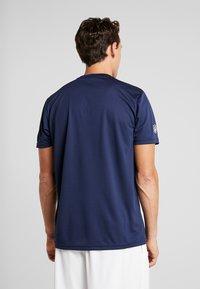 New Era - NFL NEW ENGLAND PATRIOTS SUPPORTERS TEE - T-shirt print - navy - 2