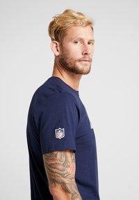 New Era - NFL LOS ANGELES RAMS LOGO TEE - Club wear - navy - 5