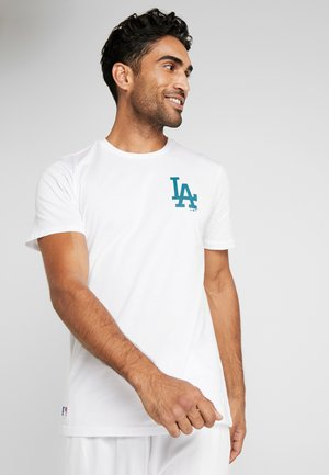 MLB FAR EAST TEE LOS ANGELES DODGERS - T-Shirt print - opic white