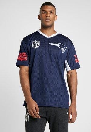 NFL TEE NEW ENGLAND PATRIOTS - Klubbkläder - oceanside blue