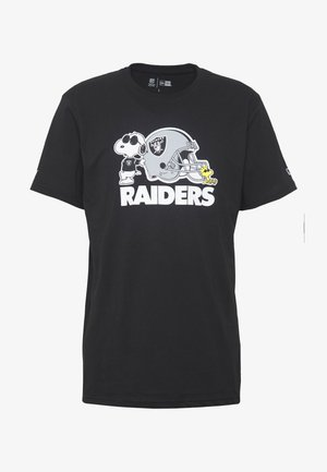 NFL SNOOPY TEE OAKLAND RAIDERS - Goalkeeper shirt - black