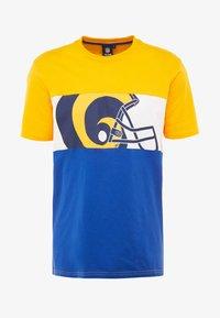 Fanatics - NFL LOS ANGELES PANNELLED - Fanartikel - blue - 4