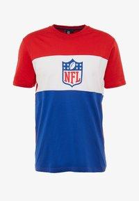Fanatics - NFL PANNELLED SHORT SLEEVE - Voetbalshirt - Land - dark blue - 3
