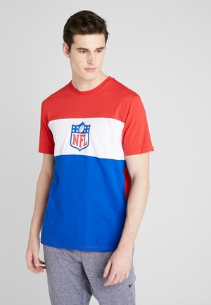 NFL PANNELLED SHORT SLEEVE - Pelipaita - dark blue