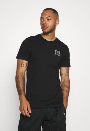 ROSE WORDMARK TEE  - T-shirts med print - black