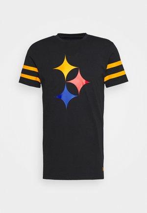 NFL ELEMENTS TEE PITTSBURGH STEELERS - Klubové oblečení - black