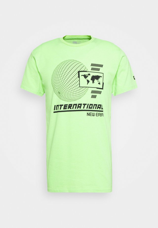 GRAPHIC TEE  - Triko s potiskem - light green