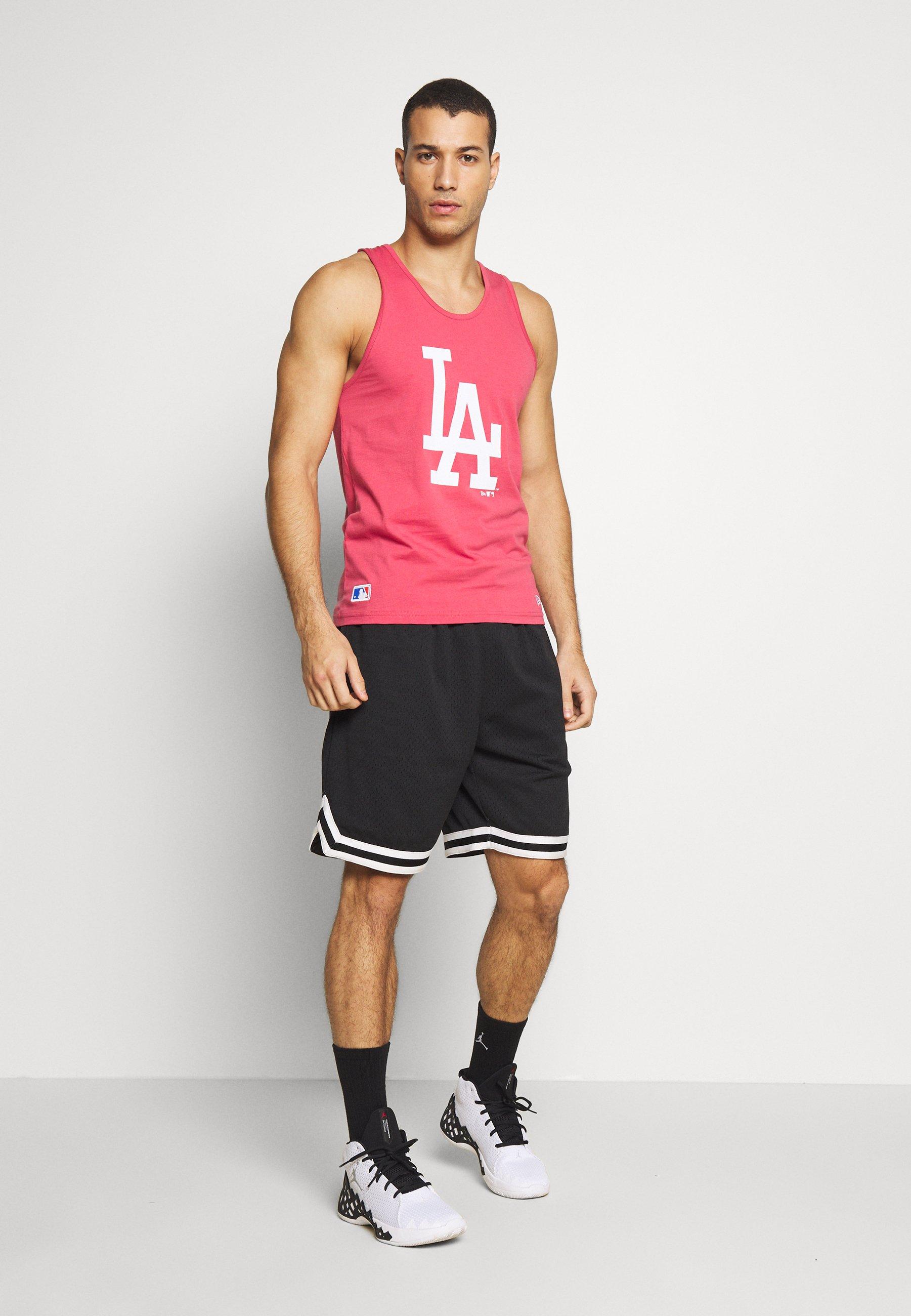 MLB SEASONAL TEAM LOGO TANK LOS ANGELES DODGERS Klubtrøjer light pink