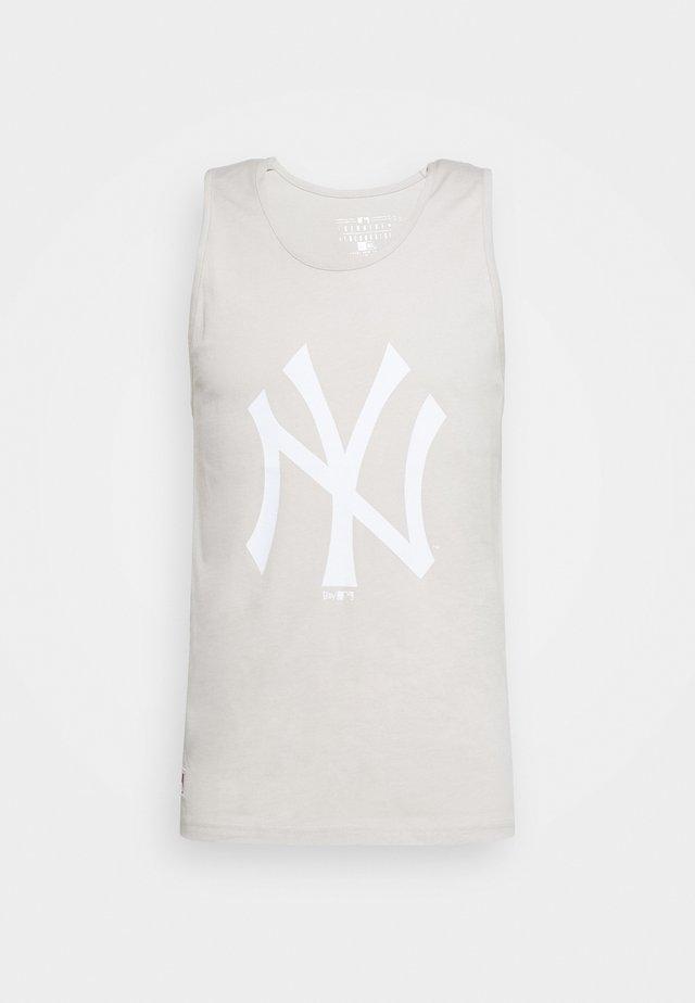 MLB SEASONAL TEAM LOGO TANK NEW YORK YANKEES - Vereinsmannschaften - off white