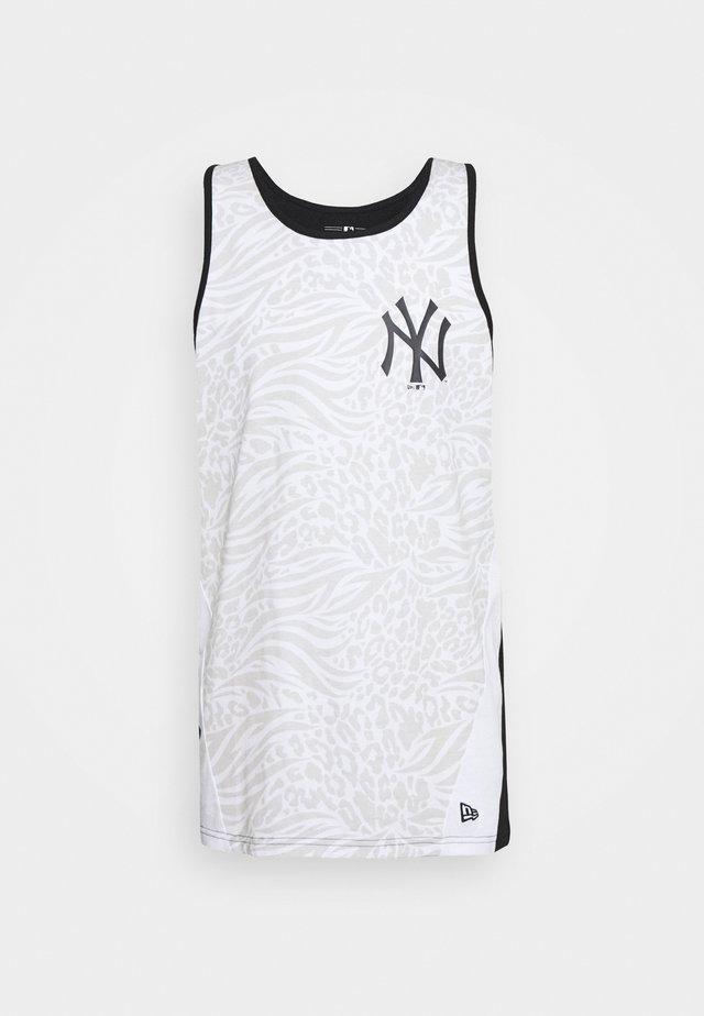 MLB TANK NEW YORK YANKEES - Vereinsmannschaften - white