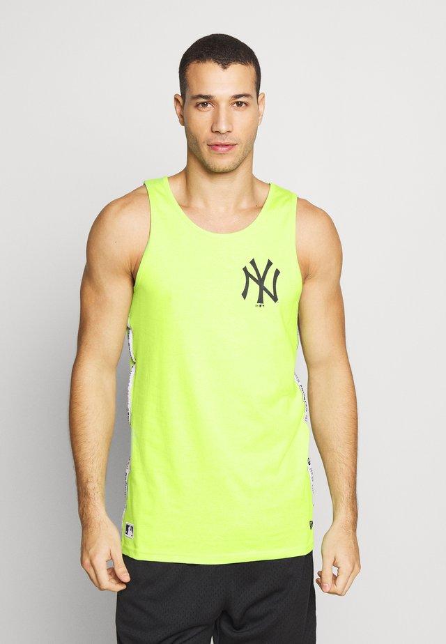 TAPING TANK NEW YORK YANKEES - Klubbkläder - light green