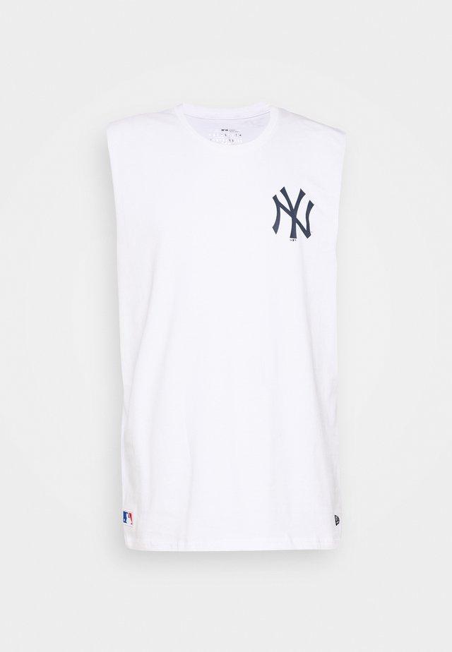 MLB SLEEVELESS TEE NEW YORK YANKEES - Vereinsmannschaften - white
