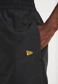 New Era - NBA LA LAKERS ESTABLISHED DATE SHORT - Korte broeken - black - 5