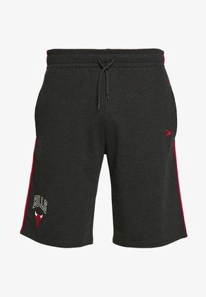 NBA PIPING SHORT CHICAGO BULLS - Krótkie spodenki sportowe - dark grey