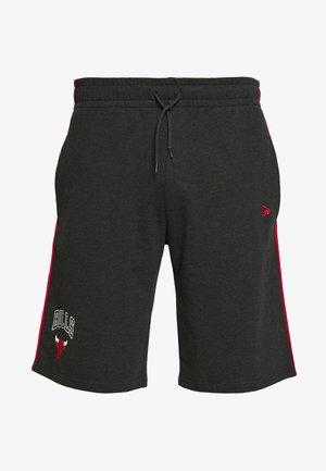 NBA PIPING SHORT CHICAGO BULLS - Short de sport - dark grey
