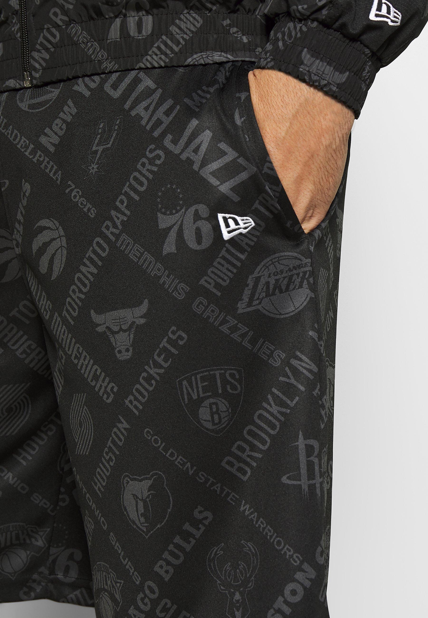 New Era Nba Short Logo - De Sport Black