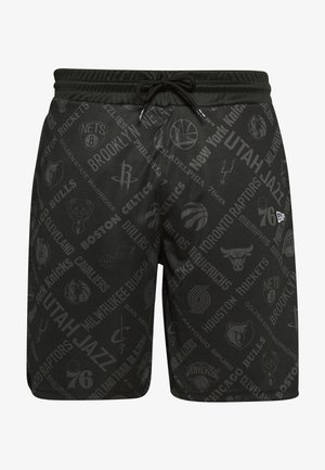 NBA SHORT NBA LOGO - Sports shorts - black